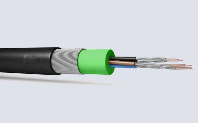 Fire Performance Mains Cable Enhanced 600/1000V