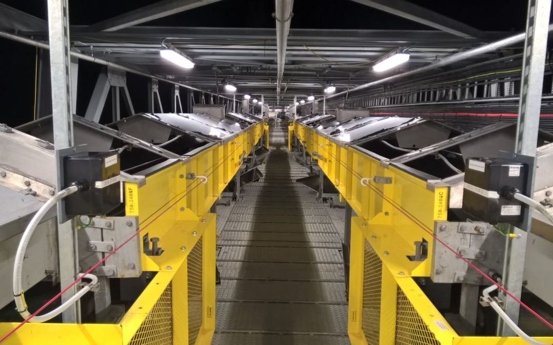 Lynemouth Power Station – Biomass Conveyors